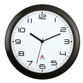 Orologio da parete hornew ø30cm nero alba