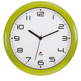 Orologio da parete hornew ø30cm verde alba
