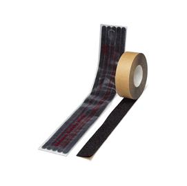 Rotolo adesivo antiscivolo 25mmx4,5mt nero safety walk