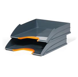 Vaschetta portacorrispondenza VARICOLOR arancio DURABLE (Conf. 2)