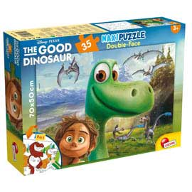 Puzzle df supermaxi 35 the good dinosaur lisciani