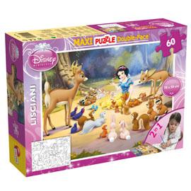 Puzzle df supermaxi 60 snow white lisciani