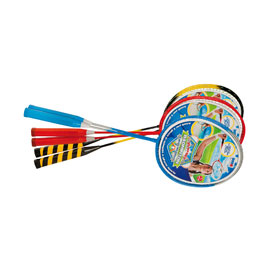 Set 2 racchette badminton con 2 volani ronchi supertoys