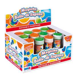 Magiche bolle di sapone 60ml ronchi supertoys