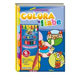 Album da colorare - super coloratutto - fiabe
