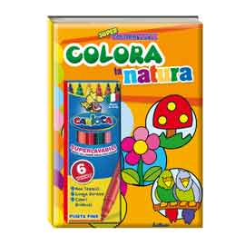 Album da colorare - super coloratutto - natura