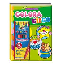 Album da colorare - super coloratutto - circo