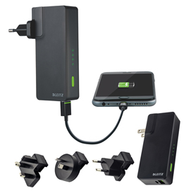 CARICATORE USB DA PARETE  PORTATILE 3000 mAh