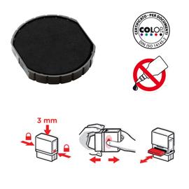 TAMPONE COLOP E/R50 NERO (Conf. 5)