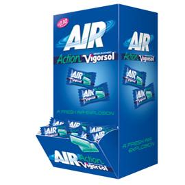 Chewing gum Vigorsol Air scatola 250pz Perfetti