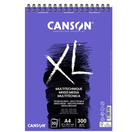 Album XL MIX-MEDIA f.to A4 300gr 30fg Canson