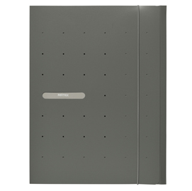 Cartellina 3L in PP c/elastico MATRIX grigio 24x33cm FAVORIT