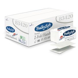 Pacco dispenser 144 asciugamani piegati a Z goffrato micro BulkySoft