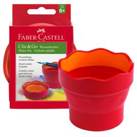 Vaschetta multiuso Click  Go rosso Faber Castell