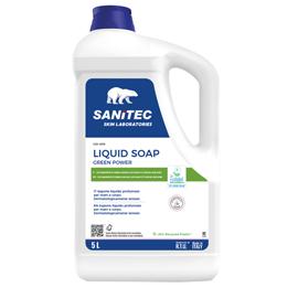Sapone liquido tanica 5Lt Green Power Sanitec