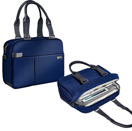 Borsa shopper smart traveller per PC 13,3� blu Leitz Complete