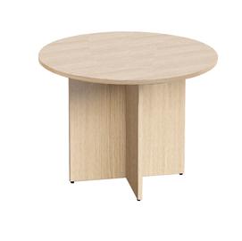 Tavolo riunione tondo Ø100cm Rovere - AgorA' Direction