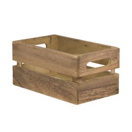 Scatola Porta MenU'/Accessori a cassetta 11,6x24x14,2cm Securit