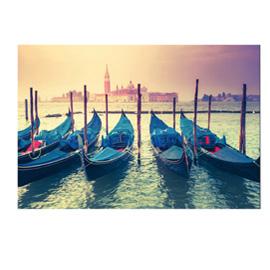 Quadro in plexiglass 60x80cm 'Venezia Canal Grande'