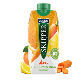 Succo Skipper gusto ACE BRICK 330ml Zuegg (Conf. 18)