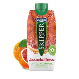 Succo Skipper gusto Arancia Rossa BRICK 330ml Zuegg (Conf. 18)