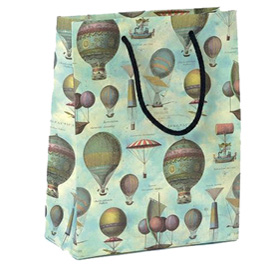 Shopper regalo AIR BALOONS 23x30x10cm Kartos (Conf. 6)