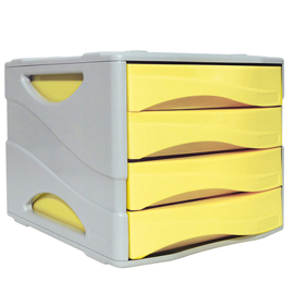 Cassettiera Keep Colour Pastel GIALLO Arda