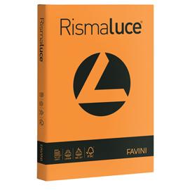 Carta RISMALUCE STANDARD A4 90gr 300fg arancio 56 Favini
