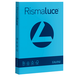 Carta RISMALUCE STANDARD A4 90gr 300fg azzurro 55 Favini