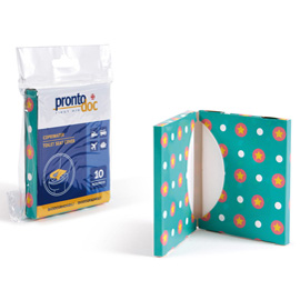 Pocket da 10 copriwater biodegradabili ProntoDoc