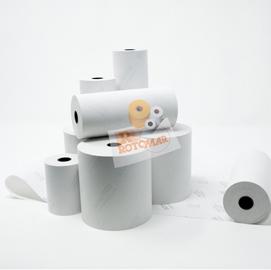 Rotolo carta termica 55gr BPA free 110mm x 30mt (per calc./stamp.) (Conf. 4)