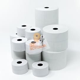 Blister 10 rotoli RC carta termica BPA free FSC 55gr 57,5mm x 80mt Ø77mm