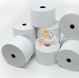 Rotolo carta termica BPA free 70gr neutra 57mmx85mt Ø87mm distrib. self service (Conf. 24)