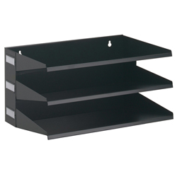Portadocumenti Sorter Rack 3 scomparti nero DURABLE