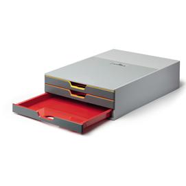 Cassettiera sottomonitor Varicolor DURABLE