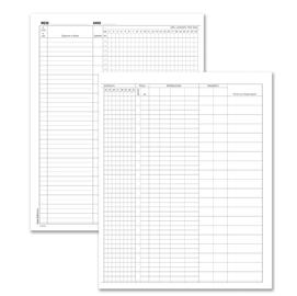 Registro Presenze Mensili 48 pag. 31x24,5cm 131301200 SEMPER (Conf. 10)