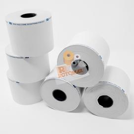 Rotolo bilancia in carta termica adesiva BPA free 57mm x 20mt foro 25mm (Conf. 5)