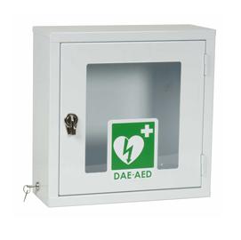 Visio teca per defibrillatore semiautomatico DEF040 colore bianco