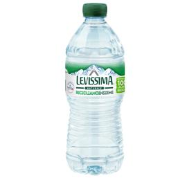 Acqua naturale bottiglia PET 100 riciclabile 500ml Levissima (Conf. 24)