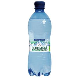 Acqua frizzante bottiglia PET 100 riciclabile 500ml Levissima (Conf. 24)