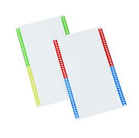 Pack 10fg da 34 cartoncini per lenticolari x cart. Sospese armadio mod. Link
