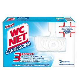 WC NET tavoletta solida Candeggina Extra White x 2
