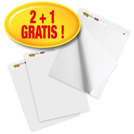 PROMO PACK 2 +1in omaggio lavagna 559P Post-it® Meeting chart