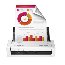 Scanner desktop compatto con duplex (DUAL CIS). 25ppm/50ipm b/n e colore.