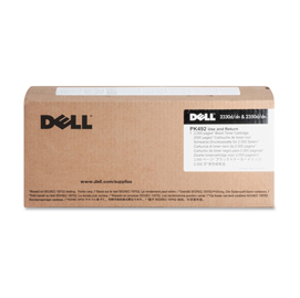 TONER NERO Use  Return Dell 2330d/dn  2350d/dn PK492 CAPACITA' STANDARD