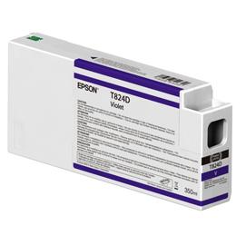 TANICA INCHIOSTRO VIOLA 350 ML X PLOTTER EPSON SURECOLOR SERIES SC-P6000/P7000/