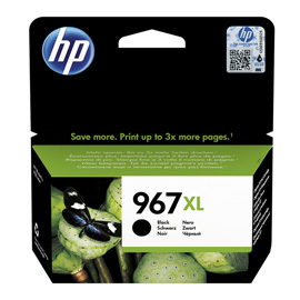 Cartuccia inchiostro NERO HIGH HP967XL per Hp OfficeJet 9000 serie