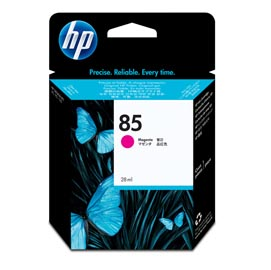 CARTUCCIA A GETTO D'INCHIOSTRO HP N.85 MAGENTA 28ML