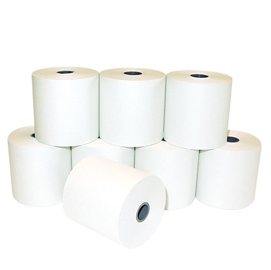 Cf 10 pz rotolo paper roll 57mm x 40 mt. 65 mm