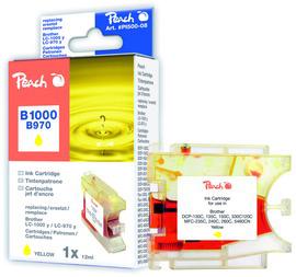 Cartuccia giallo per print c/brother lc1000ylc 970y 12ml